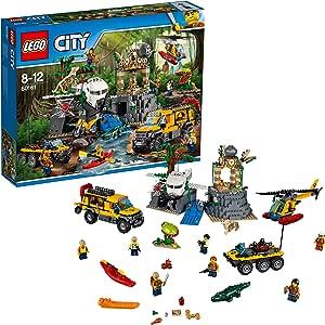LEGO City Jungle Exploration Site, Multi-Colour, 60161