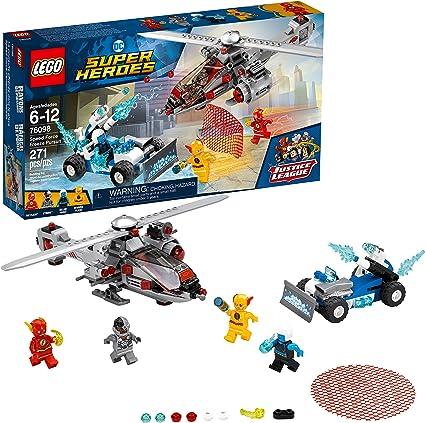 LEGO DC Comics-Super Heroes-Cyborg et cyborgcopter-de Set 76098