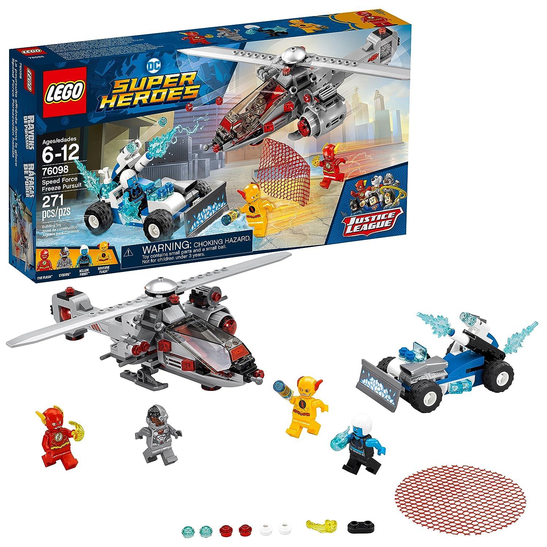 LEGO DC Super Heroes Speed Force Freeze Pursuit 76098 Building Kit (271 Piece) 6212661