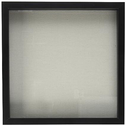 Amazon.com - EDGEWOOD Parkwood 12x12 Black Shadow Box Frame for ...