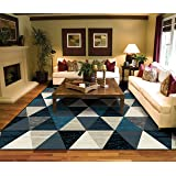 Charmant Modern Triangle Rugs For Living Room 8x10 Clearance 8x11 Multi Colored Rugs