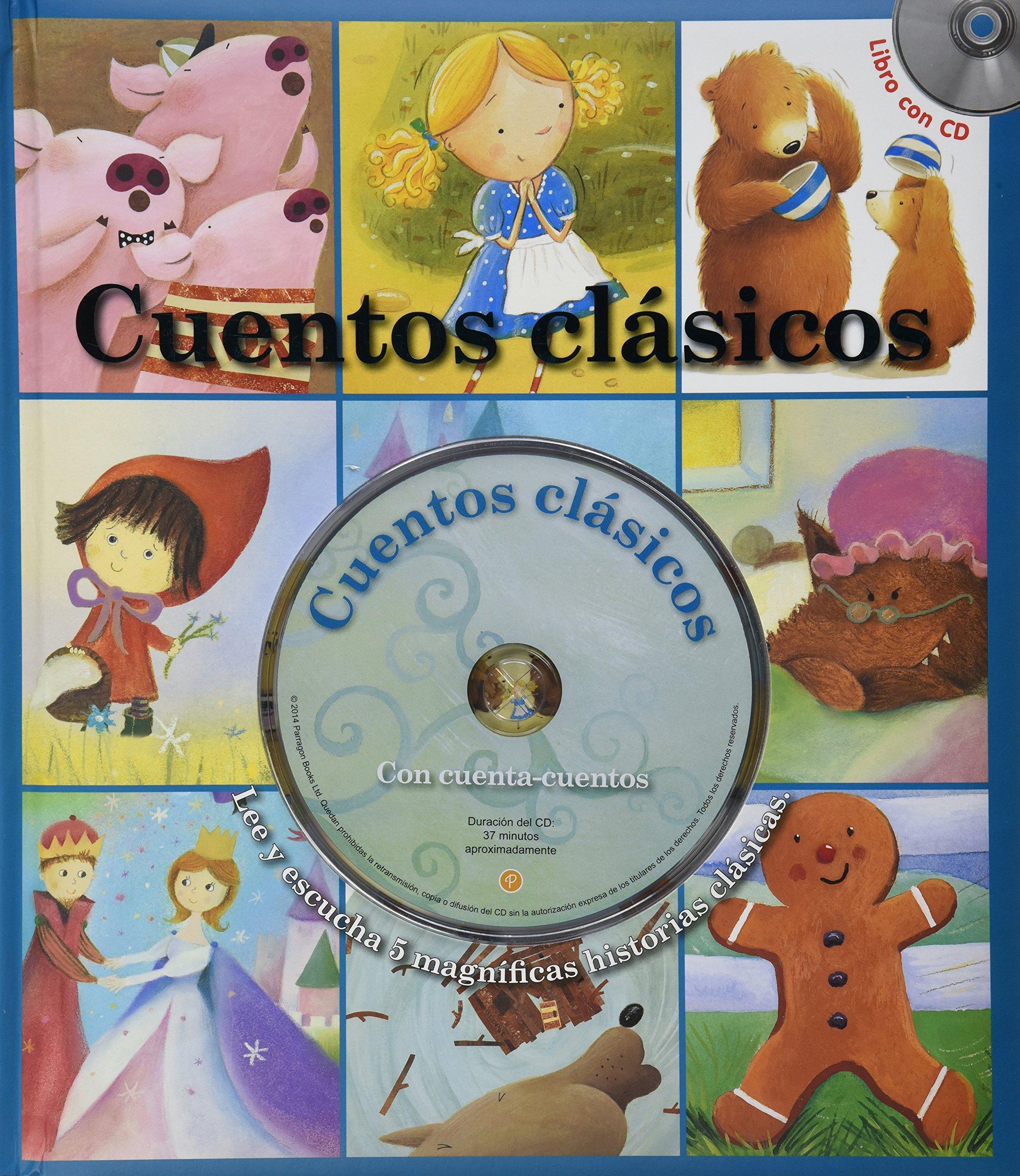 Cuentos Clasicos (Spanish Edition) (Spanish) Hardcover – January 1, 2014