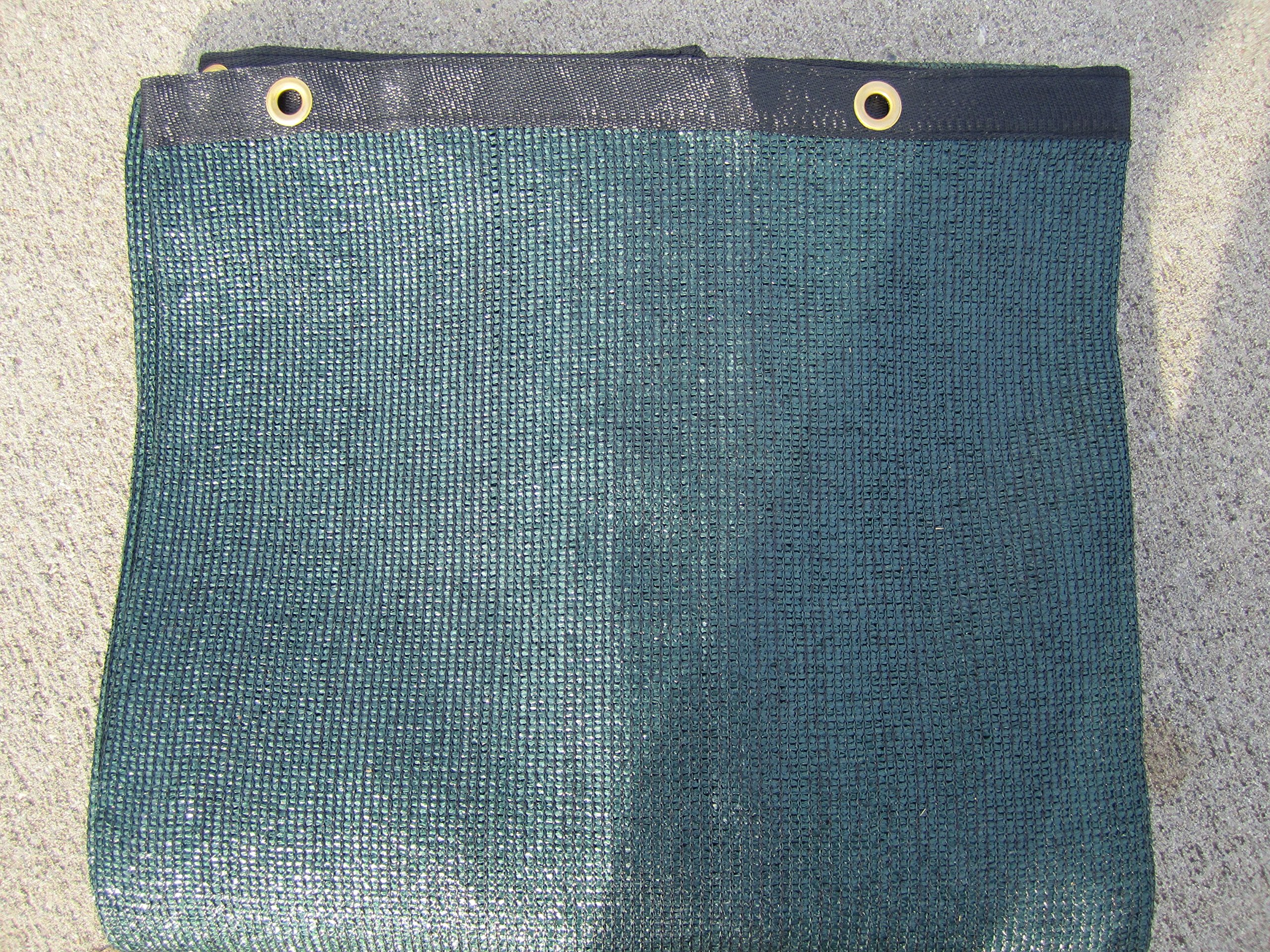 RC 10ft. X 10ft. Green Dog Kennel Shade Covers/Sunblock Tops (Top cover only)