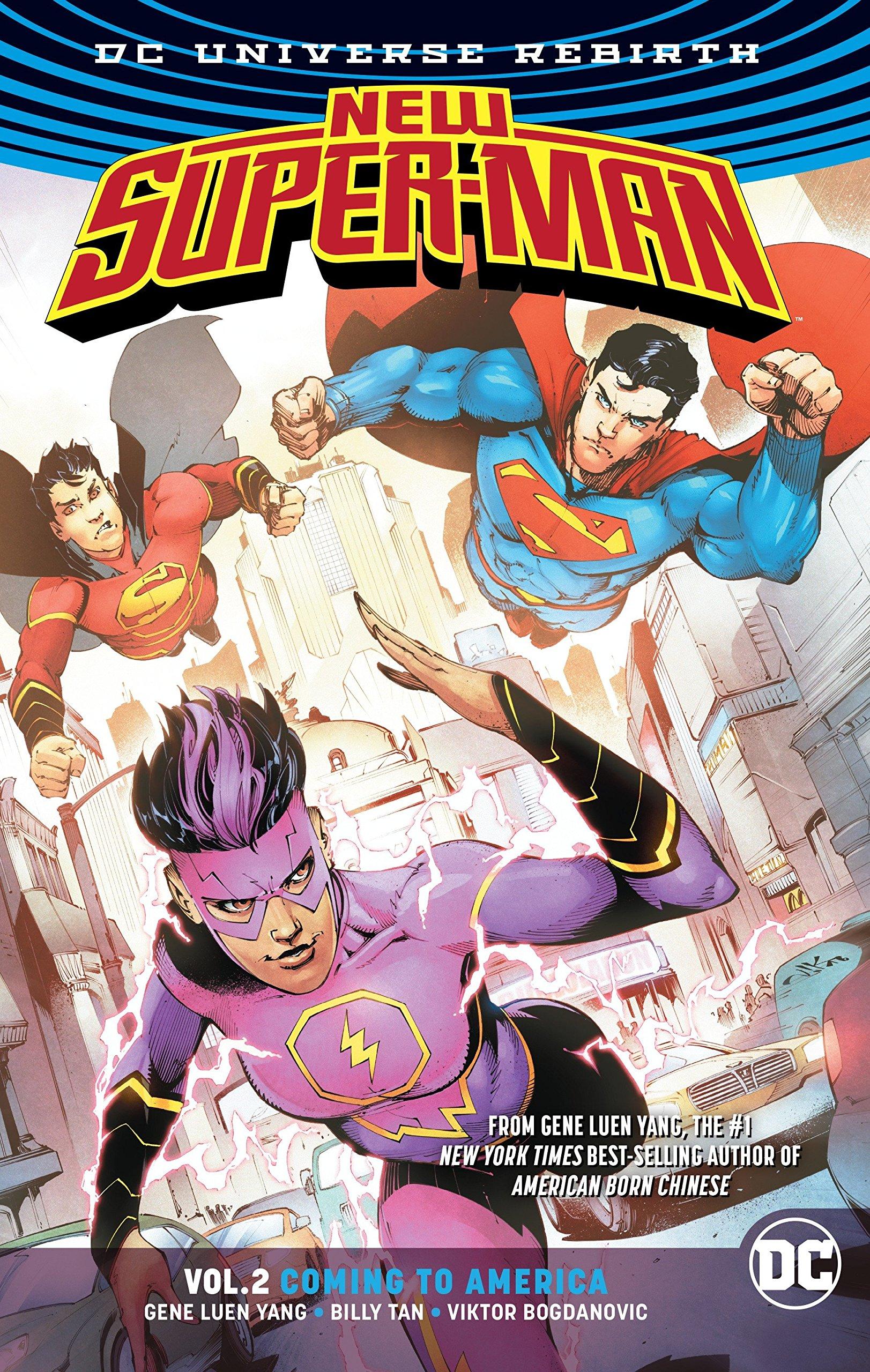 2: Coming to America (Rebirth) (New Super-Man: Rebirth) (9781401273903):  Gene Luen Yang, Viktor Bogdanovic: Books