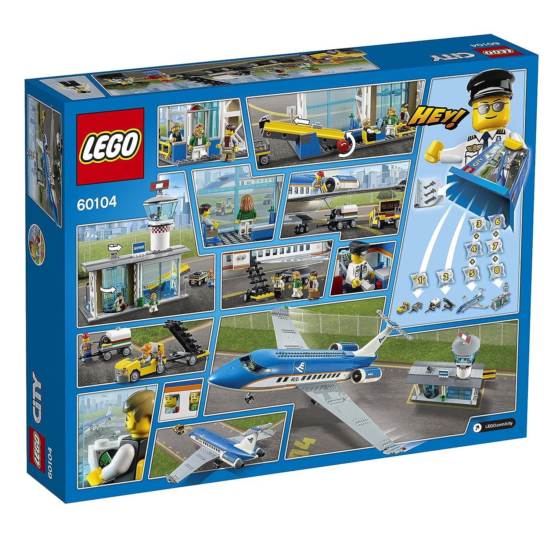 Lego City 60104 Flughafen Abfertigungshalle Kreatives Spielzeug