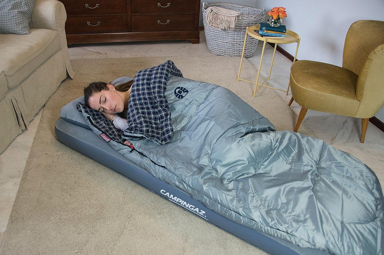 Campingaz - Colchón de aire para acampada, color gris, 189 x 60 x ...