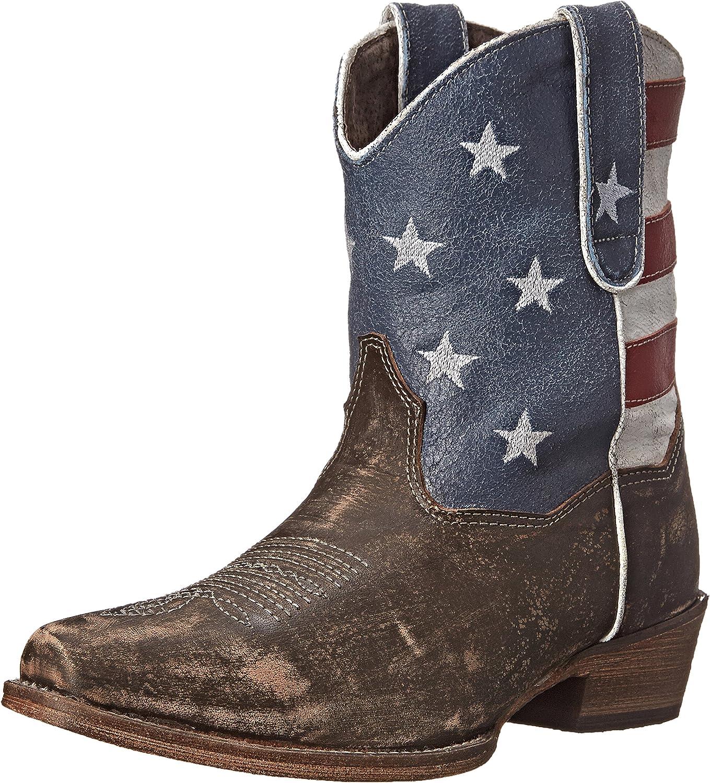 Roper Womens American Patriot Western Boot