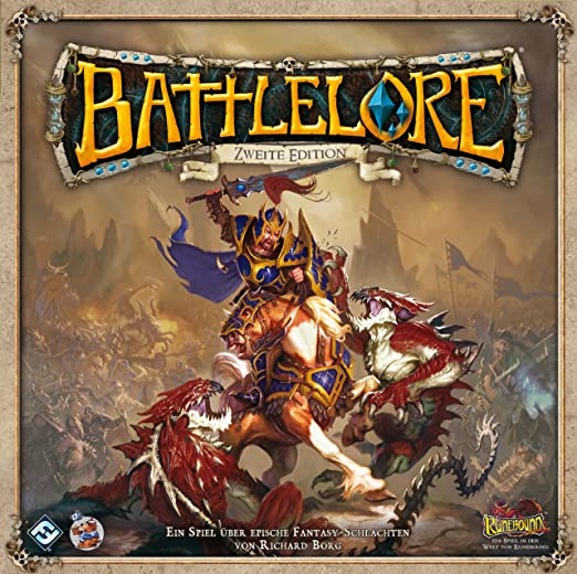 Heidelberger HEI0800 - Battlelore, Juego de Mesa, Segunda edición [Alemán]: Amazon.es: Juguetes y juegos