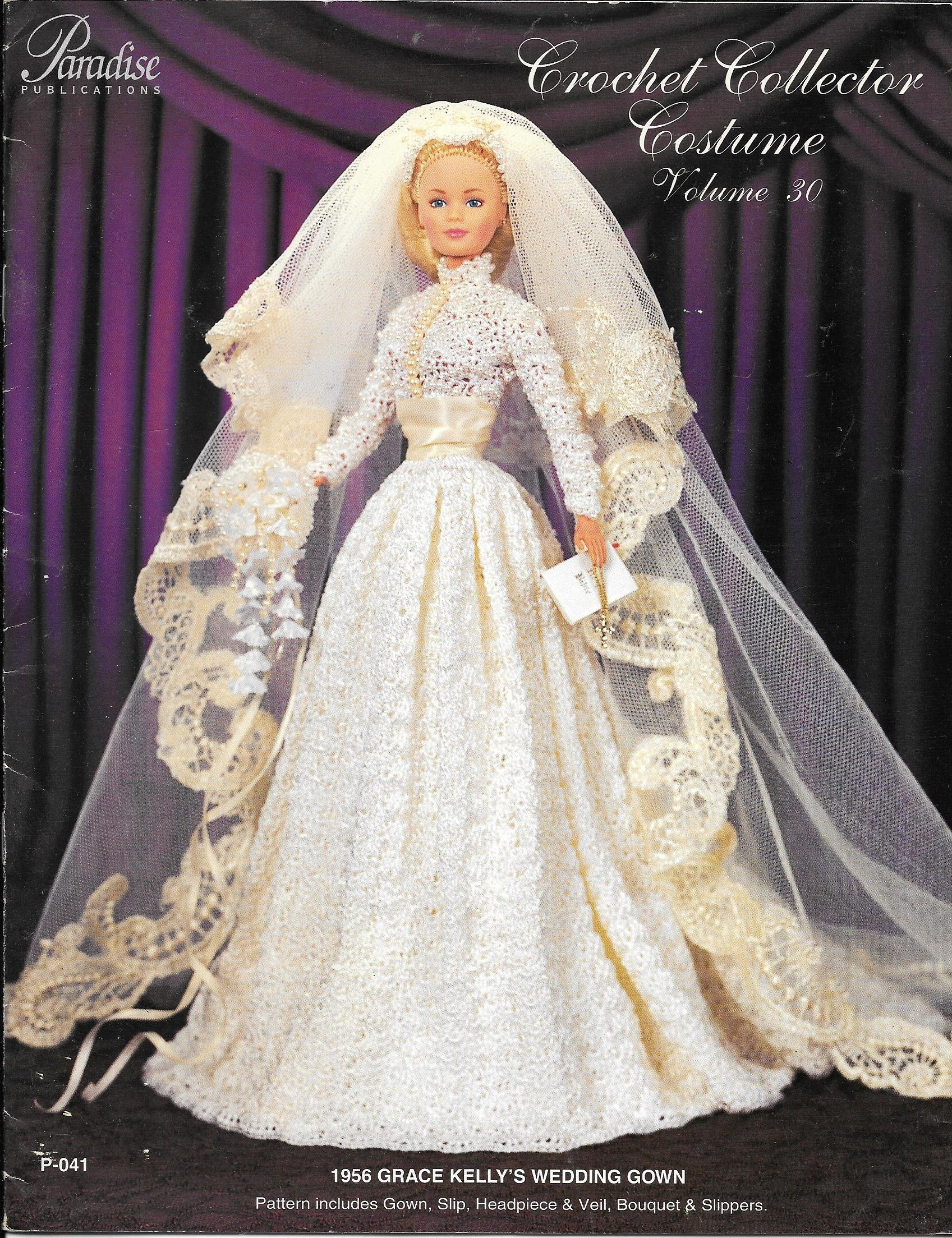 Crochet Collector Costume Volume 30: 1956 Grace Kelly\'s Wedding Gown ...