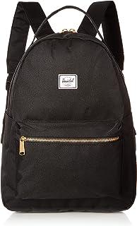 Amazon.com   Herschel Supply Settlement Mid-Volume Backpack, Black ... be8f7117de