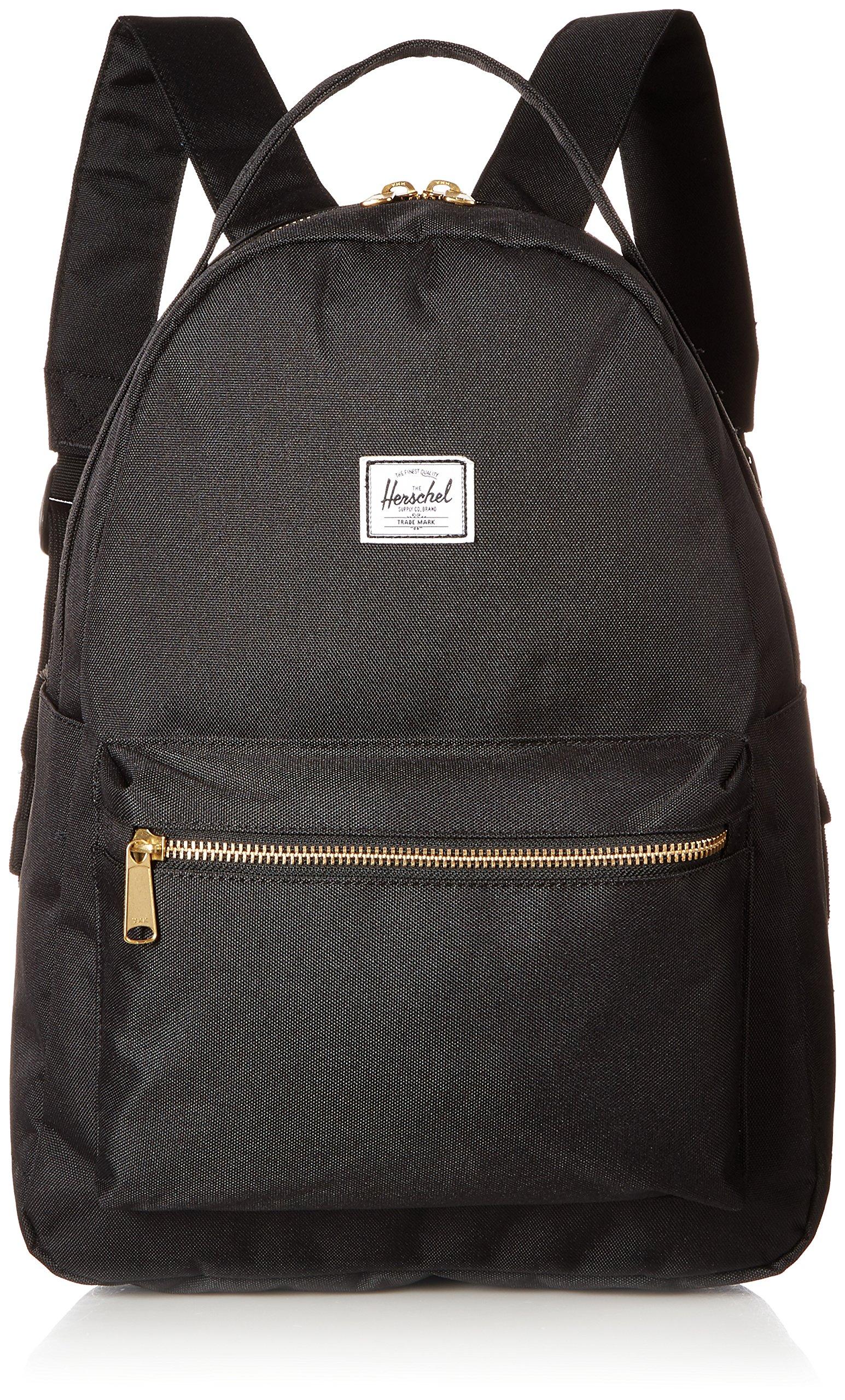 Herschel Nova Mid-Volume Backpack, Black, One Size by Herschel