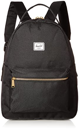 b0e2fa2c0a25 Herschel Nova Mid-Volume Backpack Black One Size
