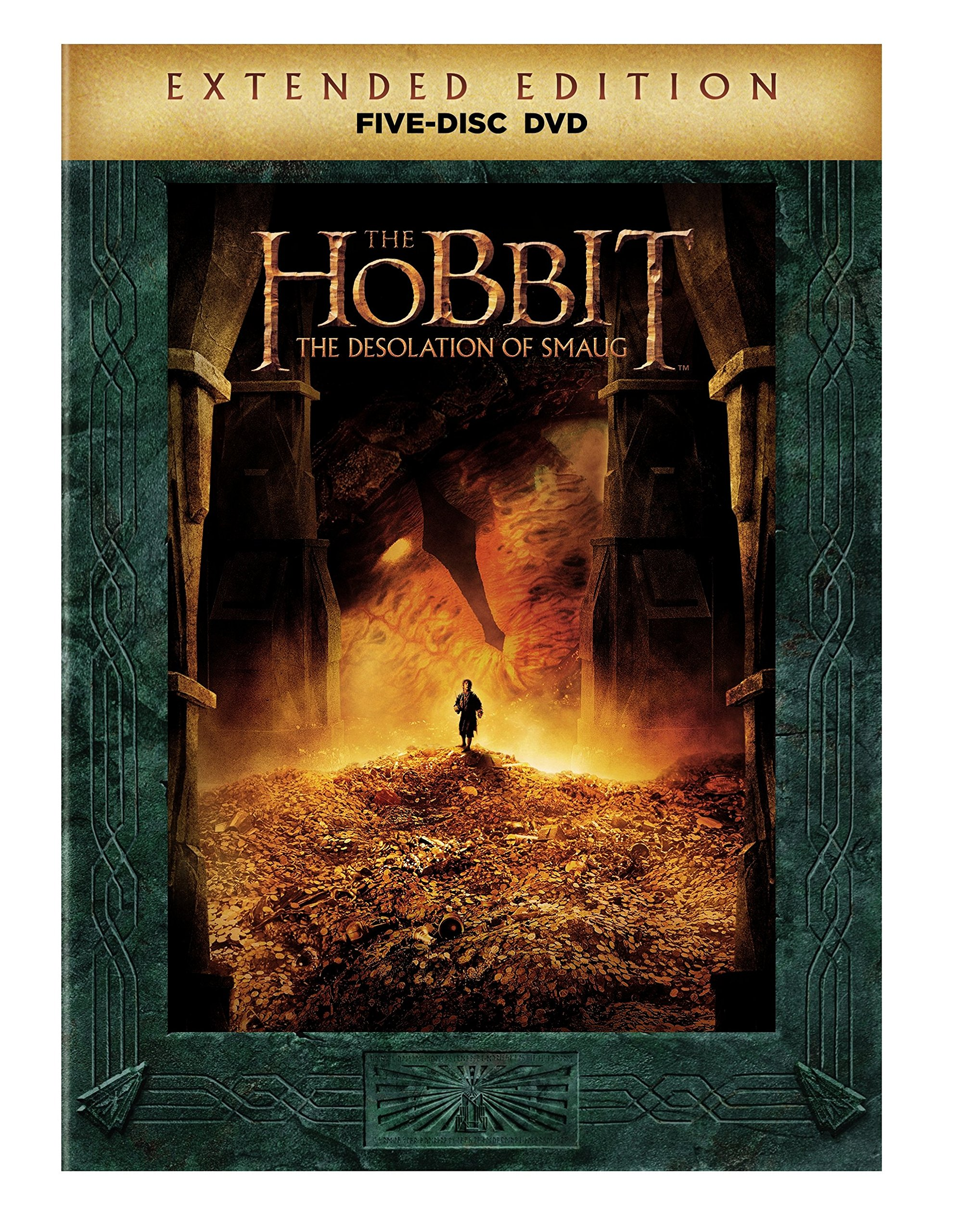 DVD : The Hobbit: The Desolation of Smaug (Extended Edition)