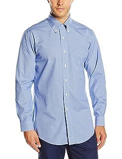 BROOKS BROTHERS Dress Non-Iron Botton Down Milano Stripe Camisa para Hombre: Amazon.es: Ropa y accesorios