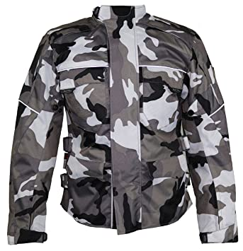 HEYBERRY Motorrad Jacke Motorradjacke Camouflage Urban Gr 3XL
