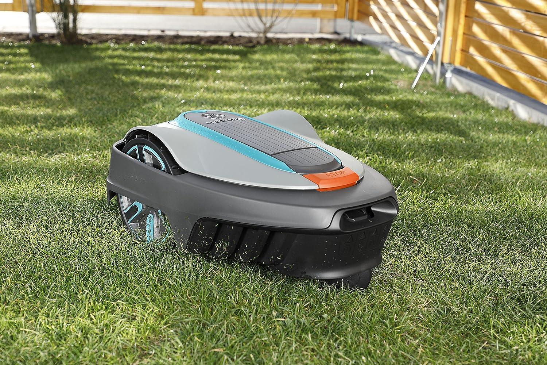 Turquesa /60/Robot cortac/ésped Smart Sileno Antracita Gardena 19064/ Naranja 1600/m/² Set Negro