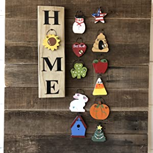 Mini Home Vertical Sign