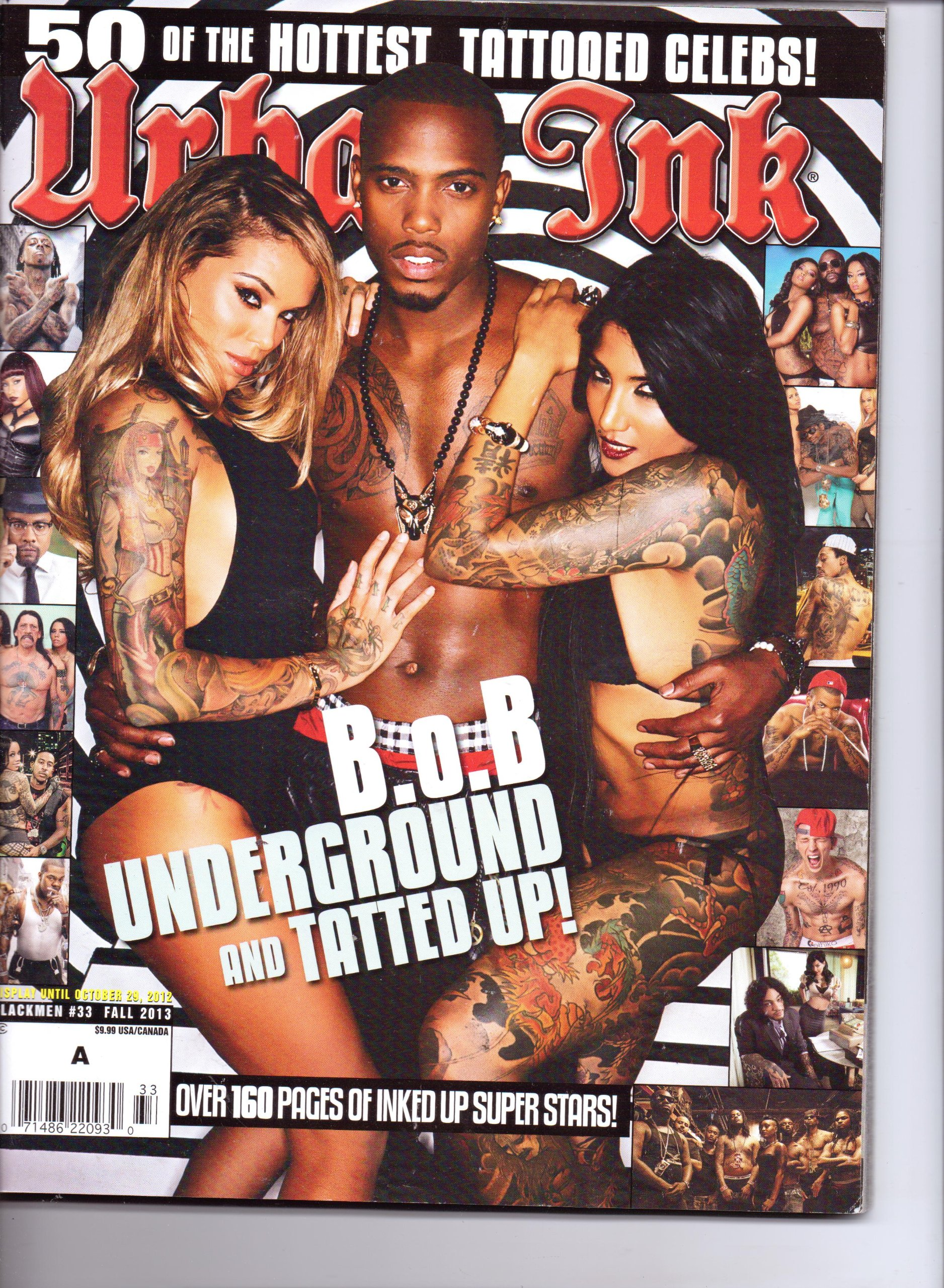 URBAN INK - 50 of the Hottest Tattooed Celebs! #33. Fall 2013. pdf