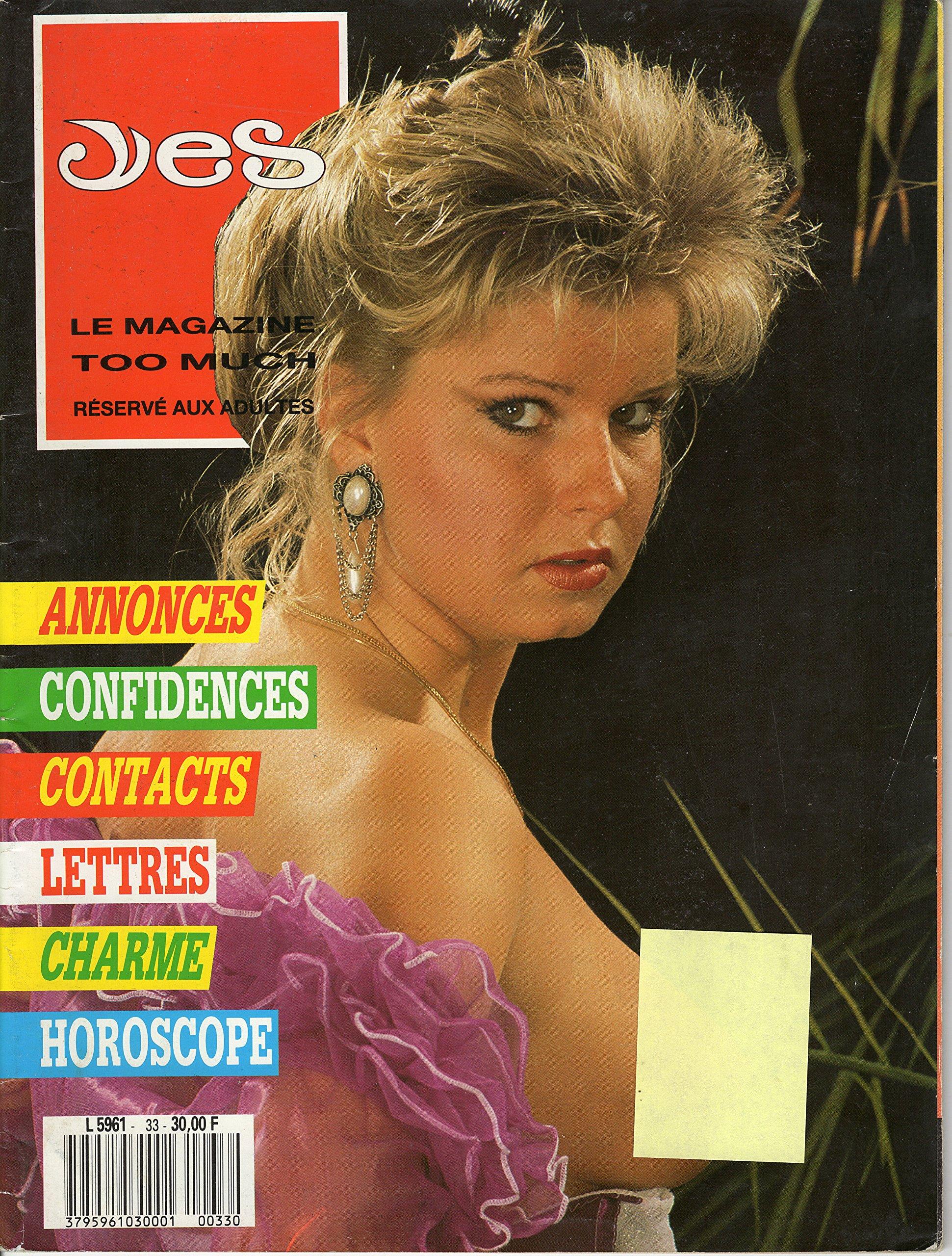 Amazon.com: Yes - le magazine too much 1989 RARE KELI ...