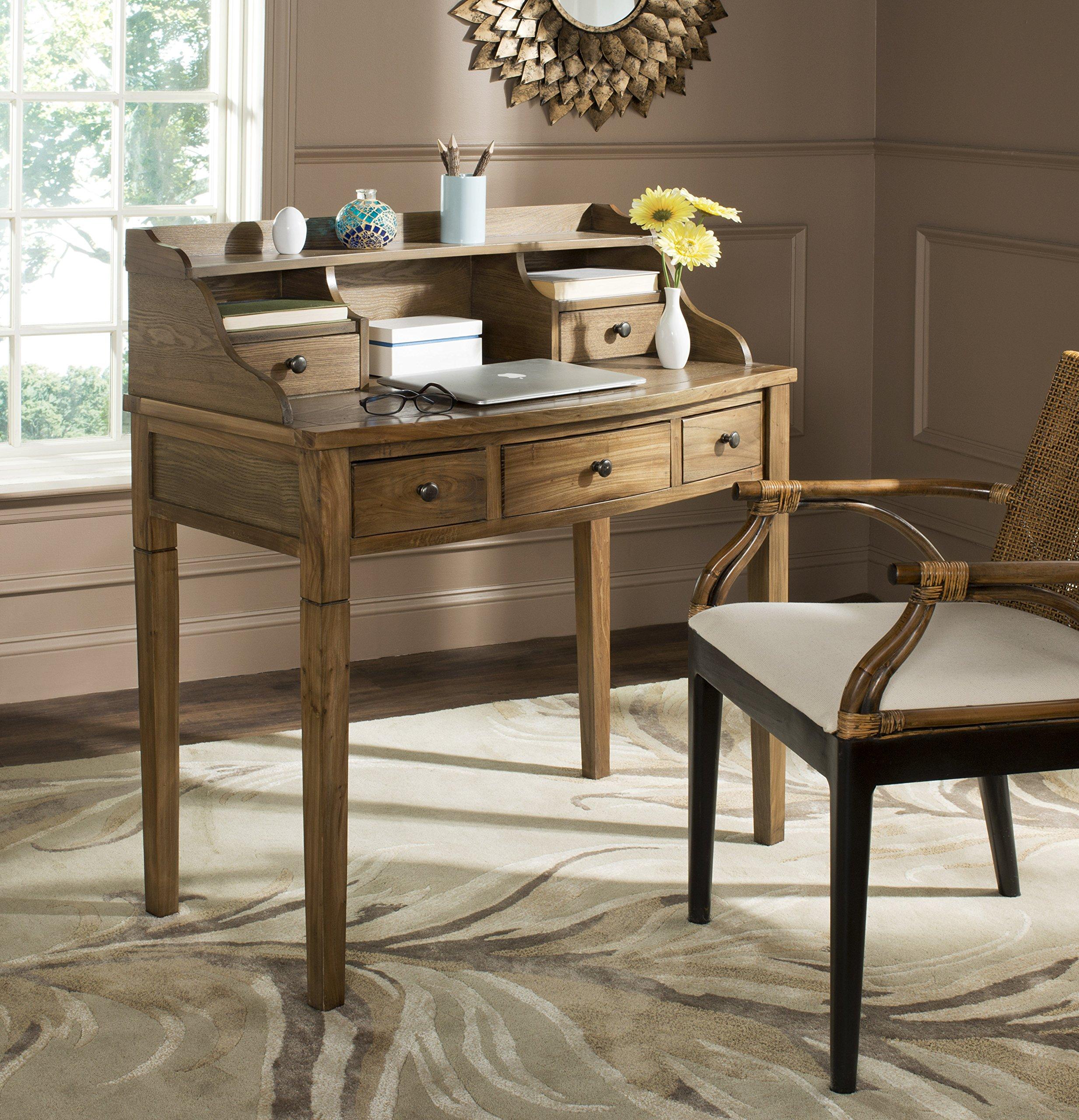 Safavieh American Homes Collection Landon Medium Oak Writing Desk by Safavieh
