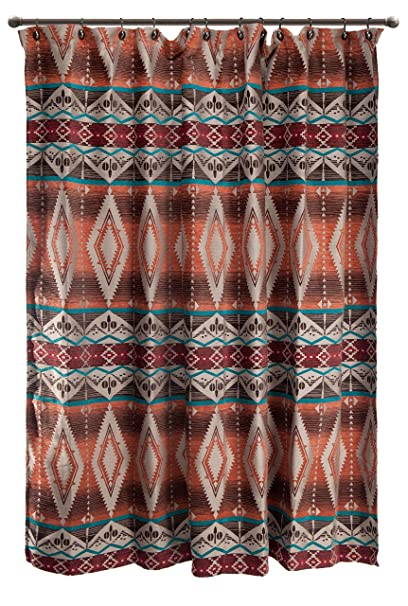 Carstens Mojave Sunset Shower Curtain