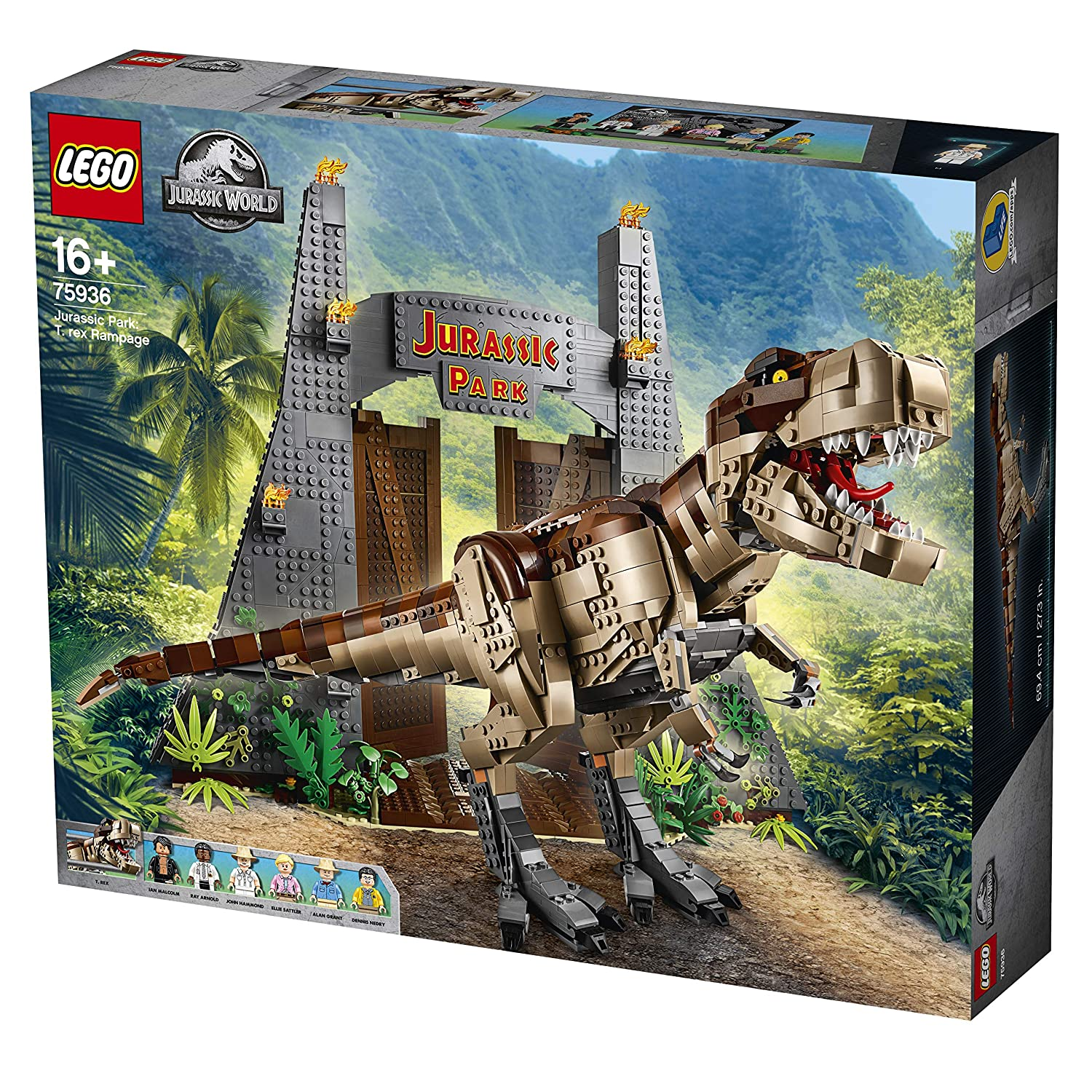 Lego Jurassic World 75936 Confidential, MultiColoreeee