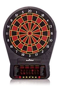 Arachnid Cricket Pro 670 Tournament-Quality Dartboard with 35 Games and 318 Variations (6 Cricket Games)