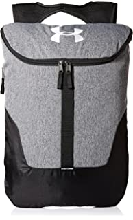 0f42ee18a2 Under Armour Unisex s Expandable Sackpack Graphite     White (041)