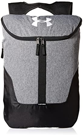 456e7faa60 Under Armour Expandable Sackpack Sac Mixte Adulte, Gris, FR Unique (Taille  Fabricant :