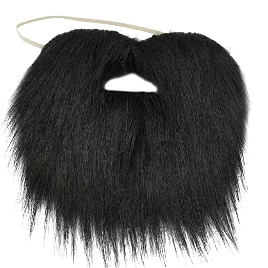 9ea2e62094a Black Beard - Black Beard Costume - Pirate Beard - Fake Beard Black by  Funny Party