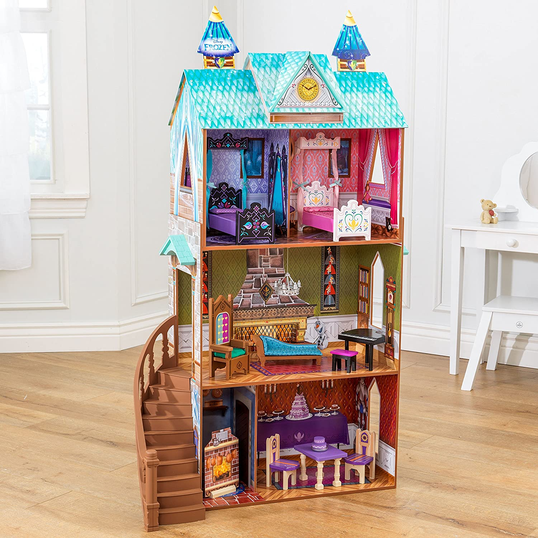 Amazon Disney Frozen Arendelle Palace Dollhouse Doll Toys Games