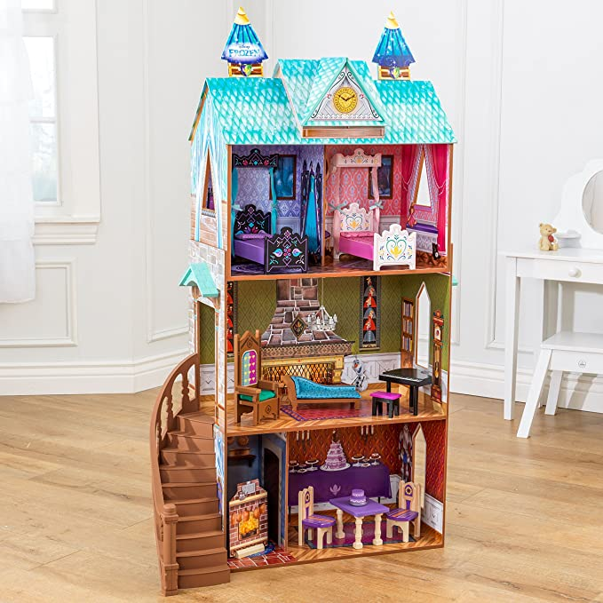 Amazon Disney Frozen Arendelle Palace Dollhouse Doll Toys Games