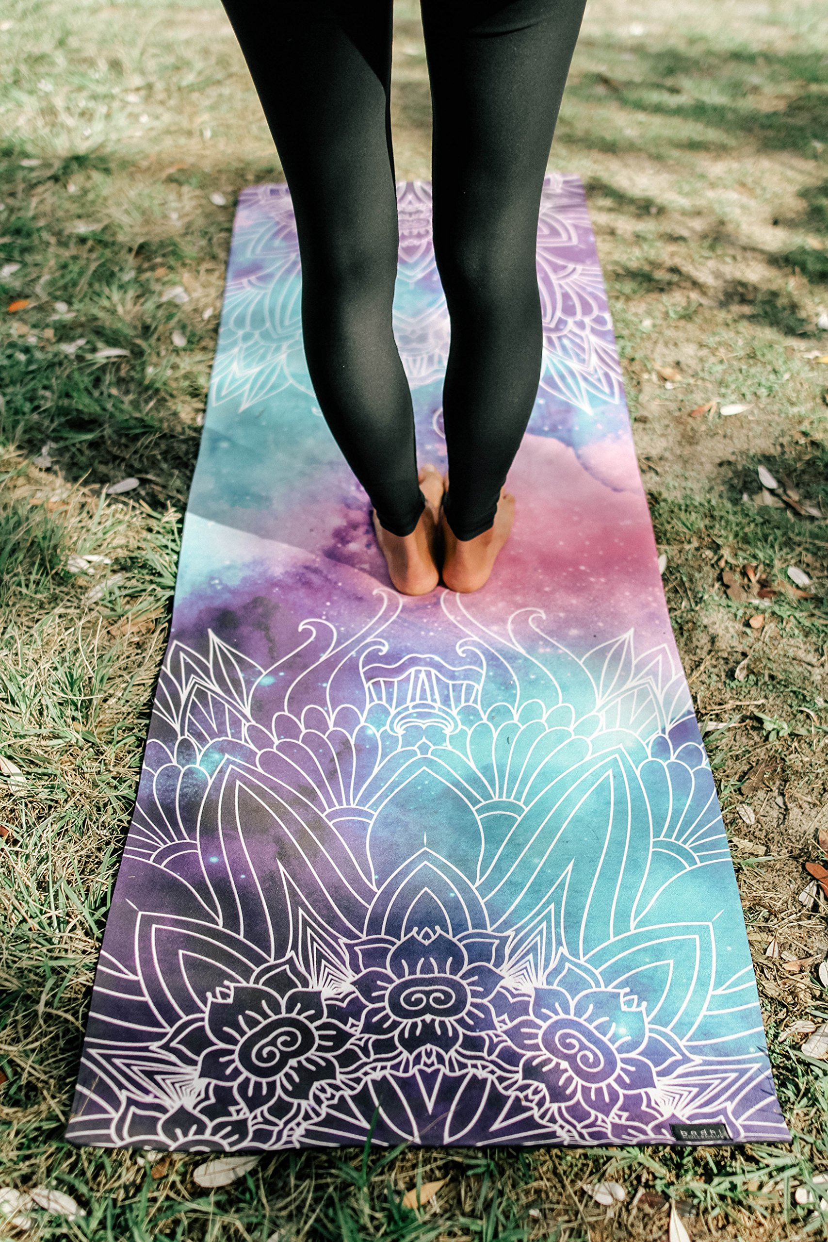 Bodhi Collective MERAKI Luxe Printed Yoga Mat   Premium Eco Friendly Natural Rubber & Soft Suede by Bodhi Collective (Image #4)