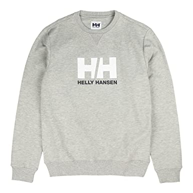 Helly Hansen Retro Crew Neck Sudadera grey melange: Amazon.es: Ropa y accesorios