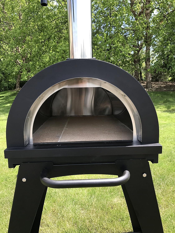 Ilfornino Piccolino Wood Fired Pizza Oven Black Amazon Ca Patio Lawn Garden