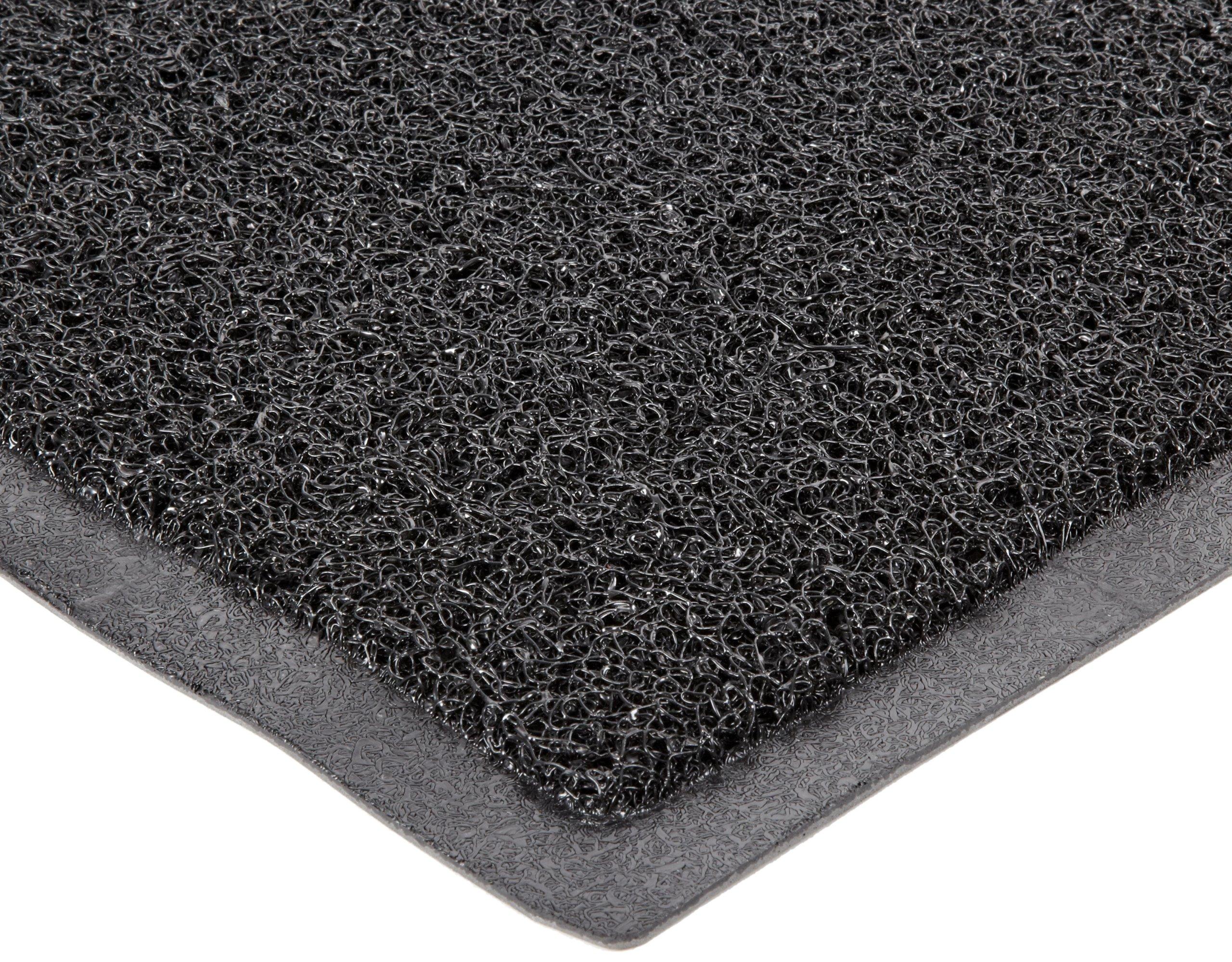 Durable DuraLoop Indoor/Outdoor Entrance Mat, 3' x 5', Black