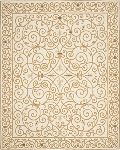 Safavieh Chelsea Ivory Gold Large Rectangle Rug
