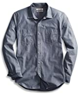 Goodthreads Men's Slim-Fit Long-Sleeve Chambray Shirt