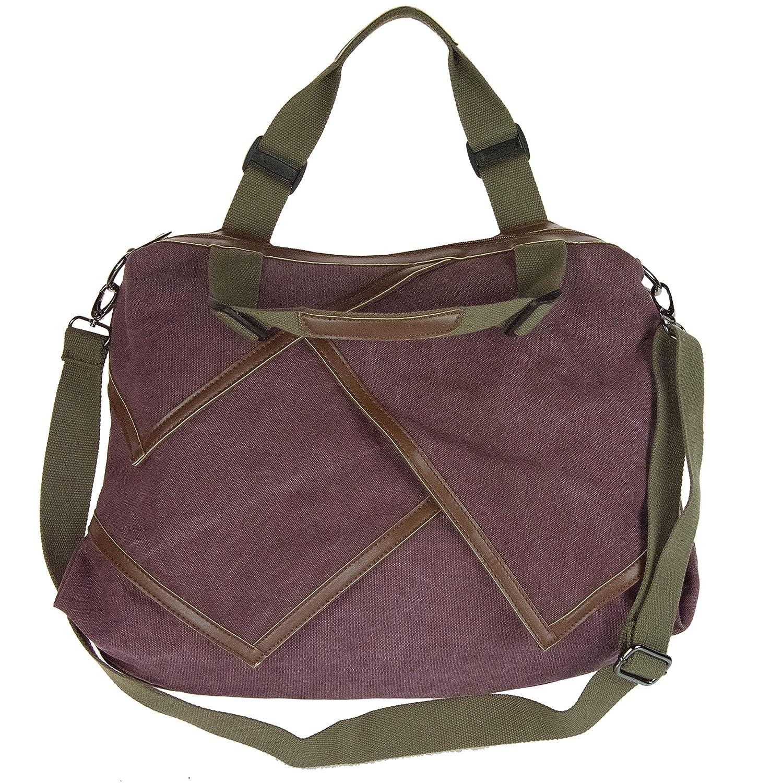 MG Collection Casual Canvas Hobo Satchel Shoulder Tote Handbag