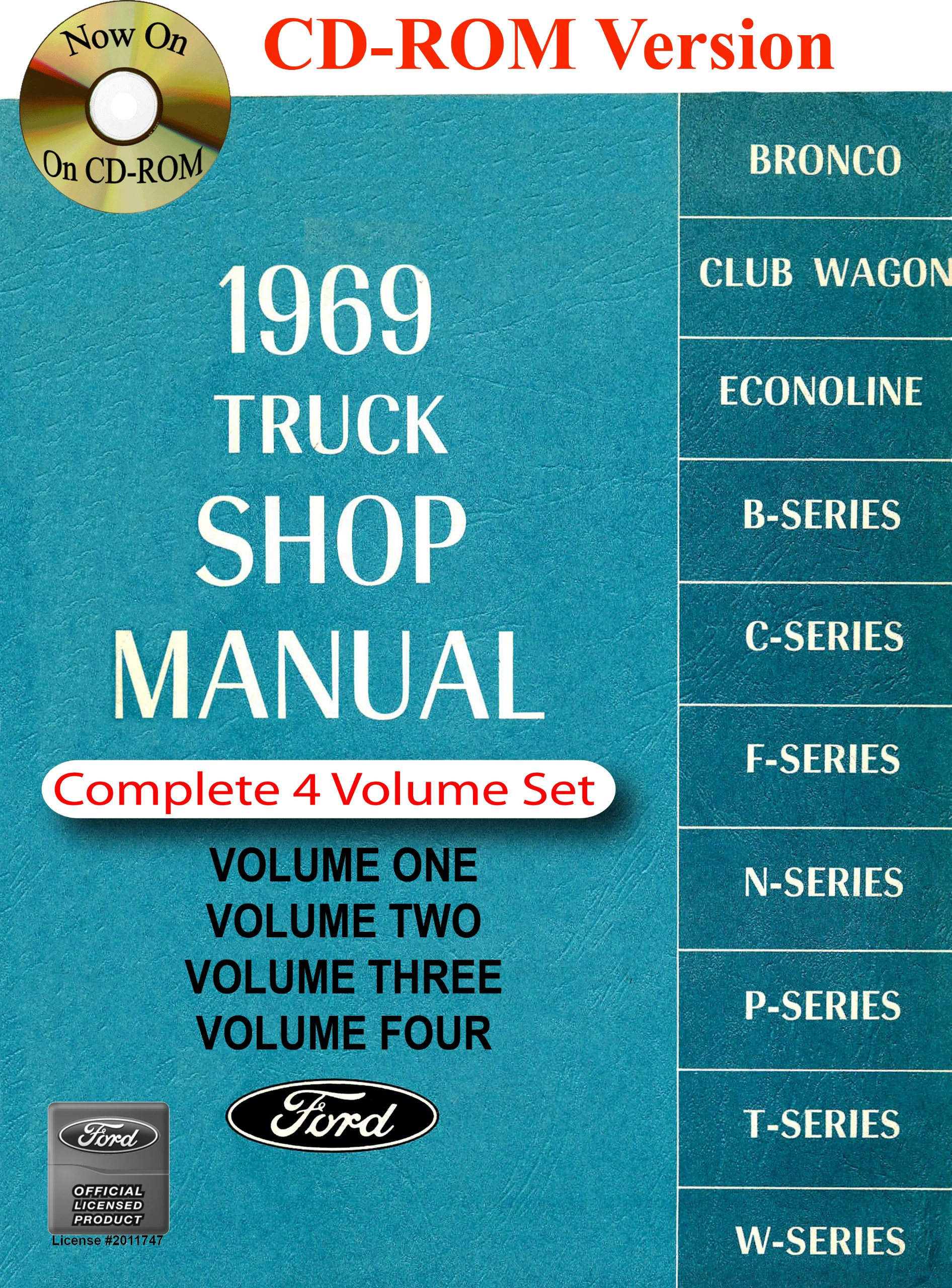 1969 Ford Truck Shop Manual: Ford Motor Company, David E. LeBlanc:  9781603710770: Amazon.com: Books
