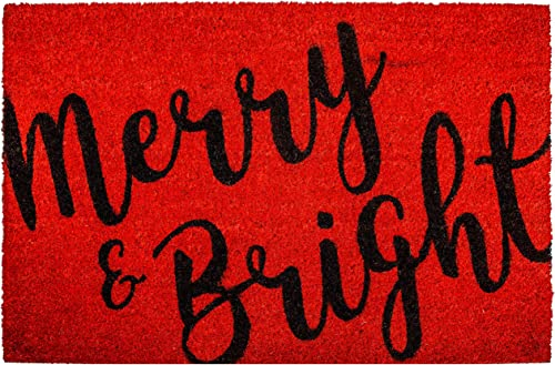 Calloway Mills 104972436 Merry Bright Doormat, 24 x 36