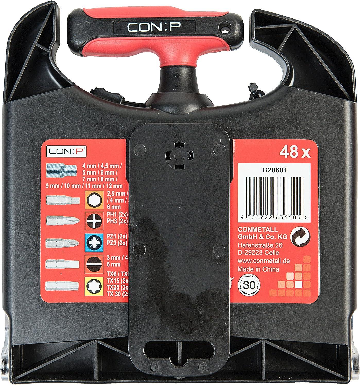 b20601 P T Kit de tournevis /à cliquet CON 48/Pi/èces