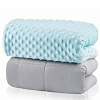 Weighted Blanket for Kids 5lbs   Throw Weighted Blanket for Adults   Heavy Blanket...