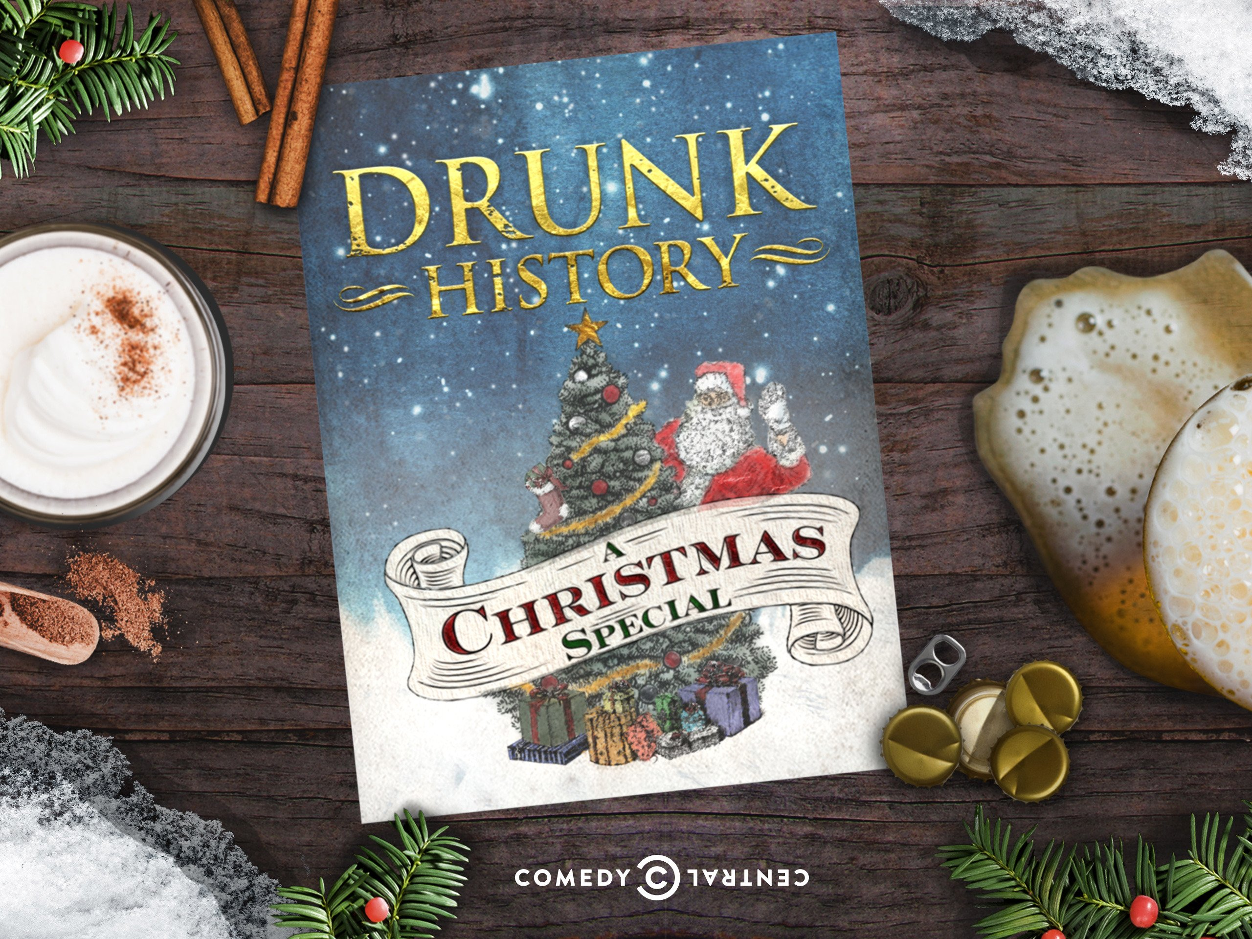 Drunk History Christmas.Amazon Com Watch Drunk History Christmas Special Prime Video