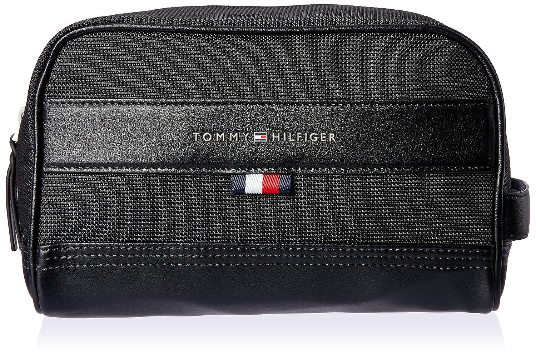 Tommy Hilfiger AM0AM03529 TH TAILORED WSB ESTUCHE Hombre Negro (Black) 15x16x28 cm (B x H T)