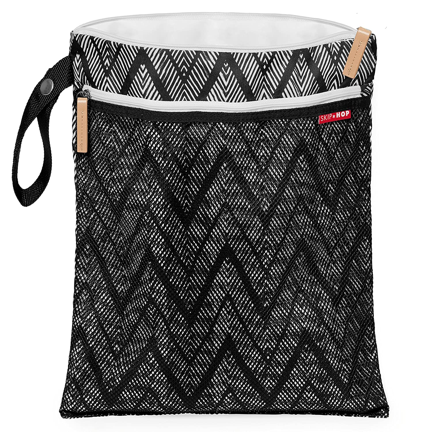 multicolor / Zig Zag Zebra Skip Hop 205013/ Grab and Go Wet//Dry Bag/