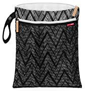 Skip Hop Waterproof Wet Dry Bag, Grab & Go, Zig Zag Zebra