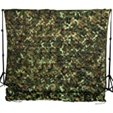 Ginsco 6.5ft x 10ft 2mx3m 6.5ft x 20ft 2mx6m Woodland Camouflage Netting Desert Camo Net for Camping Military Hunting…
