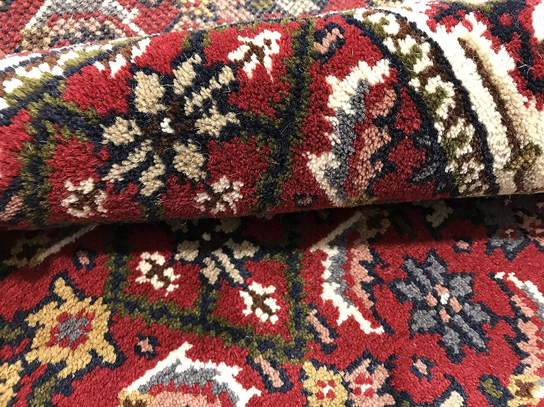 WAWA TEPPICHE TEPPICHE TEPPICHE Orientteppich Herati 70X140 cm Handgeknüpft ROT Cream Teppich 100% Wolle (70X140) B07KLHKMCT Teppiche f3ab51