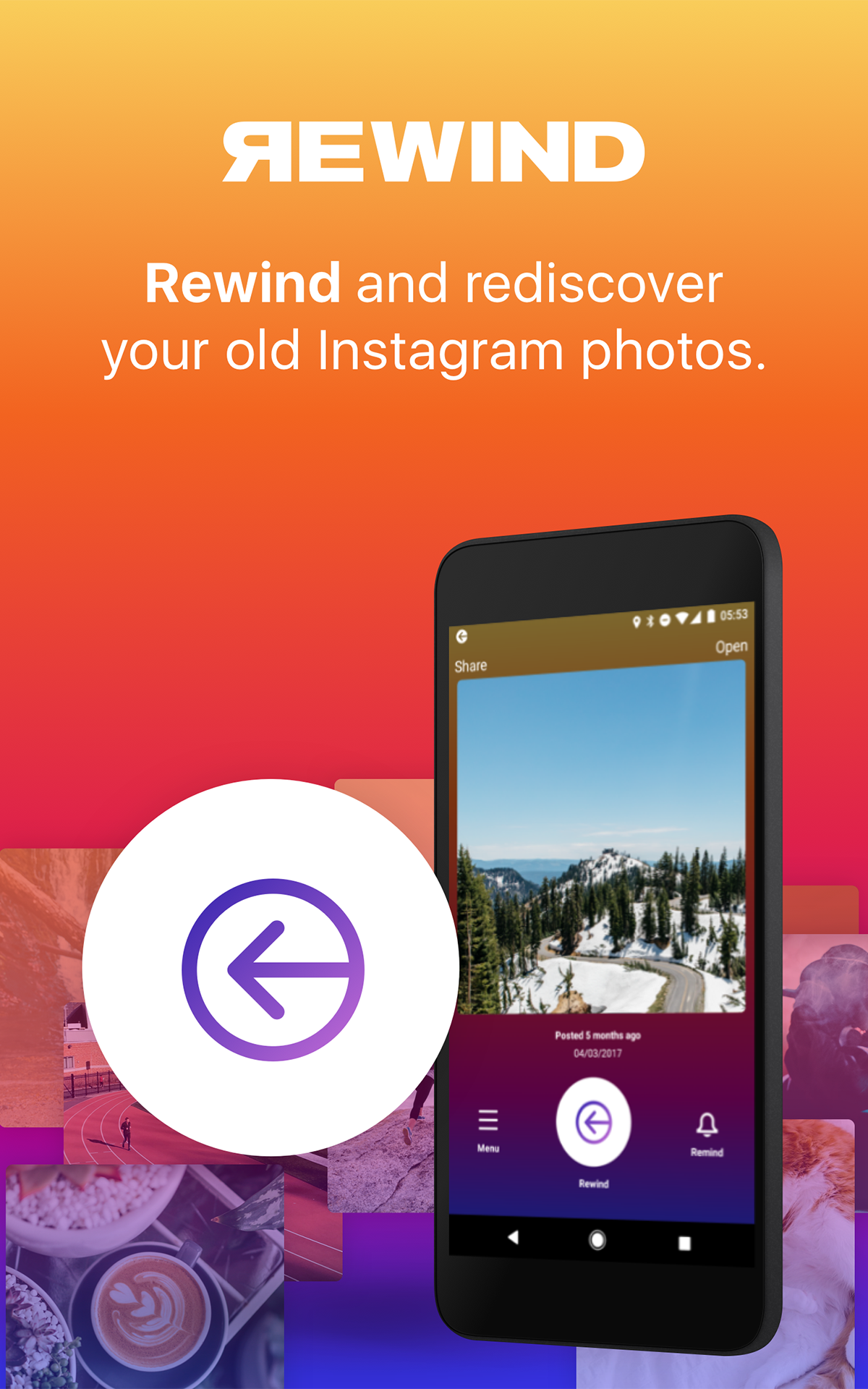 Amazon com: Rewind for Instagram: Appstore for Android